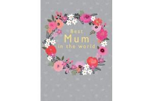 """Ευχετήρια Κάρτα """"Best Mum..."""
