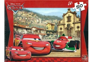 King Puzzle Cars 50 Κομματιών