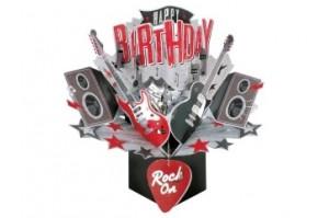 """Ευχετήρια Κάρτα """"Rock Music"""""""