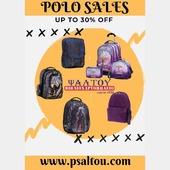 🎉SALES 🎉 Το 20μερο εκπτώσεων μόλις ξεκίνησε! Εσύ ακόμα να αποκτήσεις την τσάντα που τόσο καιρό επιθυμείς; Shipe ➡️ for more. . . Για ακόμα περισσότερες εκπτώσεις επισκέψου το φυσικό μας κατάστημα ή 🌐www.psaltou.com🥳 . . #sales #salestime #shopnow #shoponline #shoppingsales #20dayssales #polo #polobags #psaltoubookstore #bookstore #psaltou #shoponline🛍 #schoolstuff #schoolshopping #schoolbags #eshop #shoppingtherapy #shoppingforkids #shopfromhome #kilkiscity #eshop #bookstoreskilkis