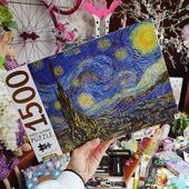 🧩Puzzling O'clock🕚 Συναρμολογογείστε και διακοσμείστε τον χώρο σας με τα αγαπημένα σας έργα τέχνης!🖼️🎨 🌃Η έναστρη νύχτα του Van Gogh και μια συλλογή έργων από τον Klimt έρχονται να σας συναρπάσουν τώρα και σε νέα gold limited edition!💫 Προλάβετέ τα σε σούπερ τιμή!💥 . . 🌐 www.psaltou.com 🎀 . . #new #newin #puzzleoclock #puzzling #puzzlelover #puzzlelovers #puzzlelove #puzzleaddict #jigjawpuzzle #jigjawpuzzles #puzzletime #puzzles #puzzle #puzzlesofinstagram #starrynight #klimt #thekissklimt #vangogh #vangohsstarrynight #artpuzzle #artpuzzles #bookstore #psaltoubookstore #psaltou #bookstoreskilkis #kilkiscity #eshop #shoponline #shopnow #eshopping